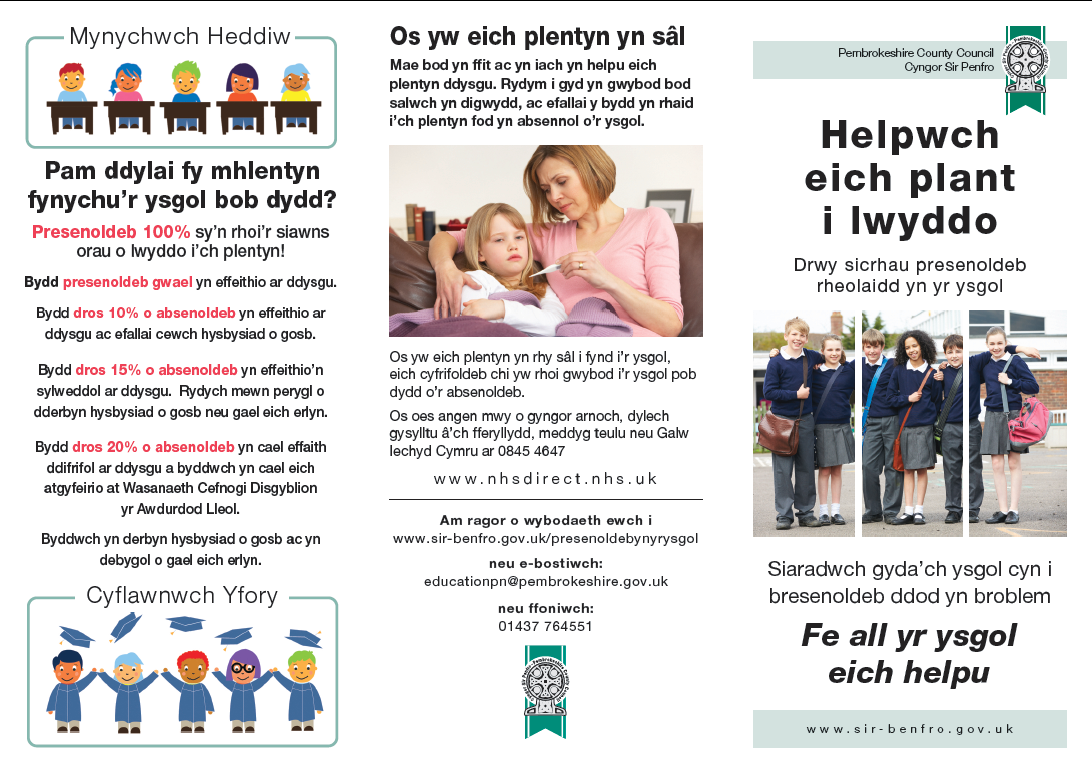 Welsh leaflet 1