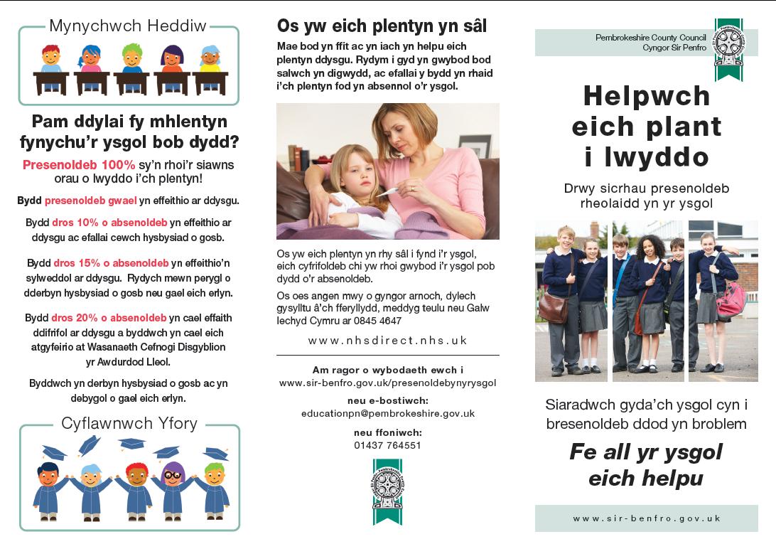 Welsh leaflet 1