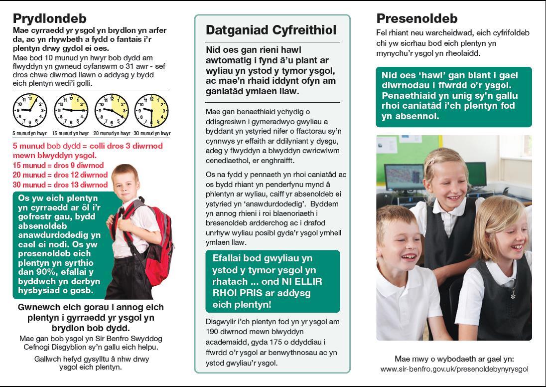 Welsh leaflet 2