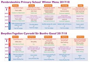 Lennie Winter menu 2017 -Week 3