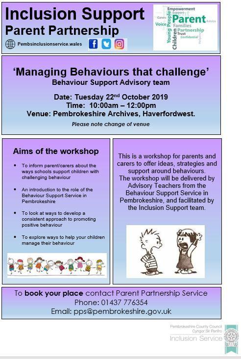 Managing Behaviors that challenge (E)